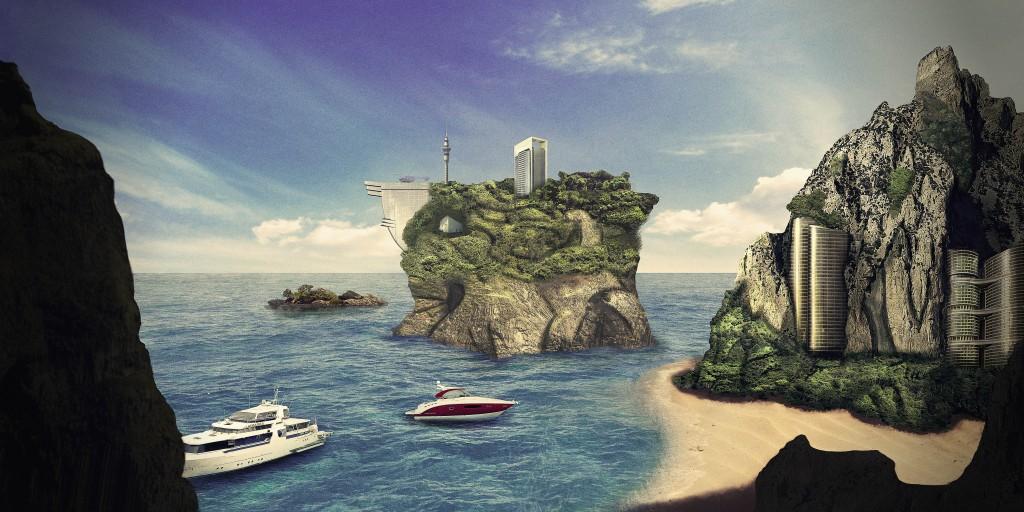 islotes de lujo